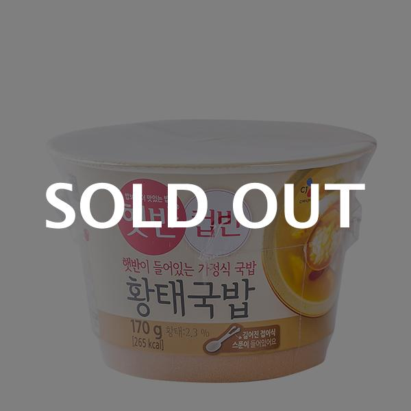 CJ 컵반 황태국밥 170g이식사