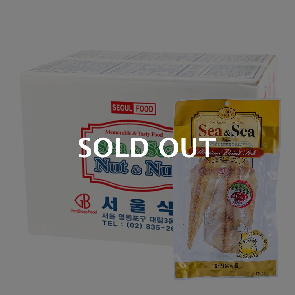 서울식품 씨앤씨명태알포 45g 100입이식사