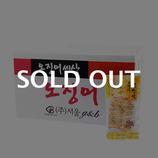서울지앤비 오징어맥반석 27g 100입이식사