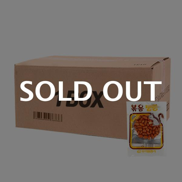우리땅콩 볶음땅콩23g(300개)이식사
