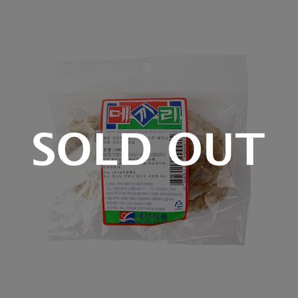 세진식품 생쥐포(2S)100g이식사