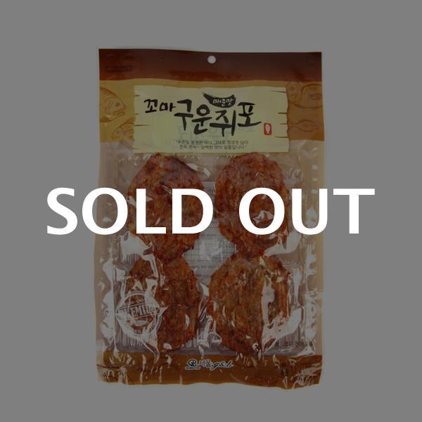 서울지앤비 매운맛꼬마구운쥐포50g이식사