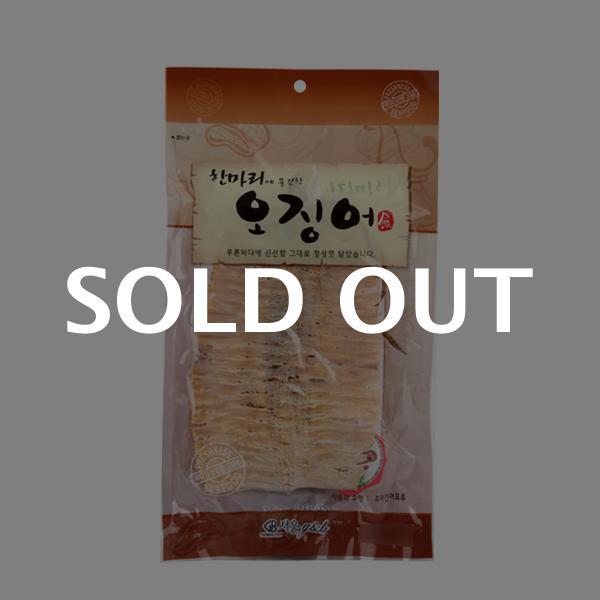 서울지앤비 한마리오징어50g이식사