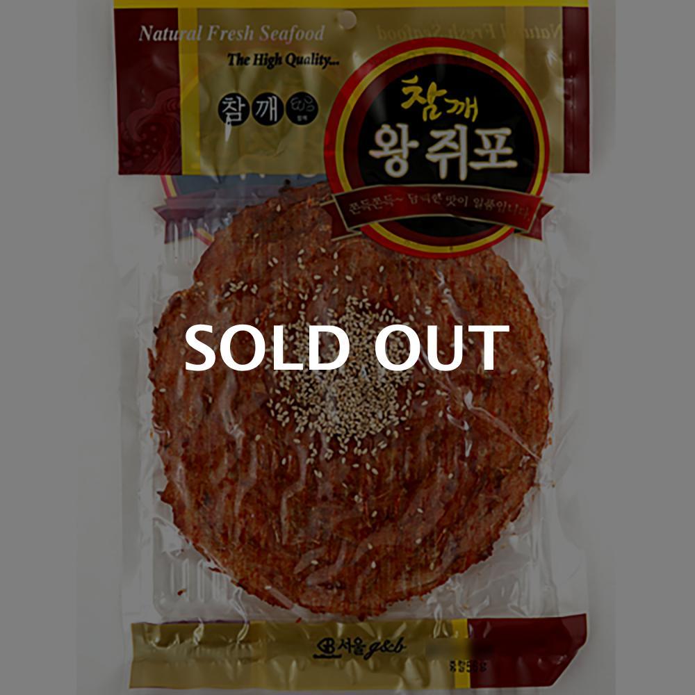 서울지앤비 참깨왕쥐포 56g이식사