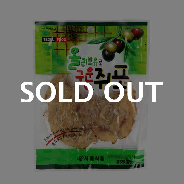 서울식품 올리브구운쥐포24g이식사