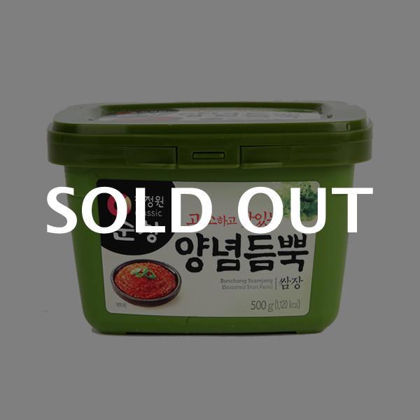 청정원 순창양념듬뿍쌈장(용기) 500g이식사