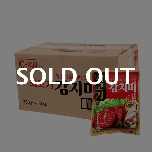 청정원 쇠고기감치미300g(20개)이식사