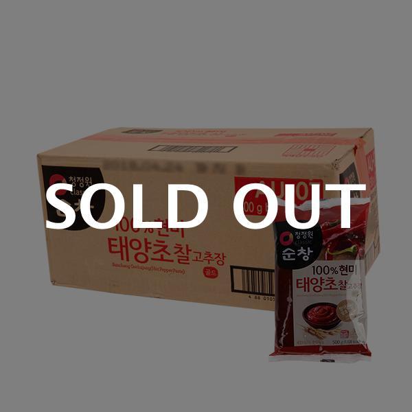 청정원 현미찰고추장리필500g(24개)이식사