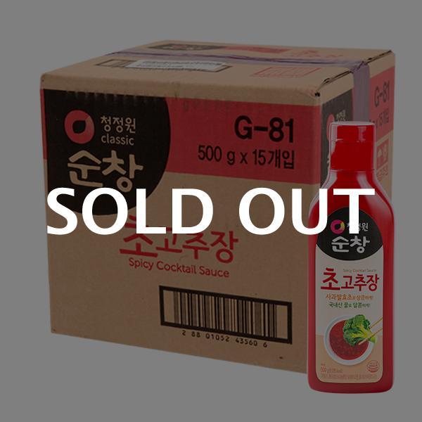 청정원 순창 초고추장 500g 15입이식사