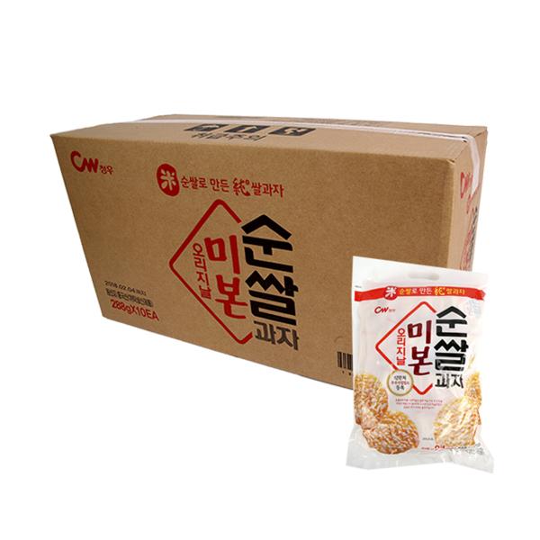 청우 미본순쌀과자오리지날288g(10개)