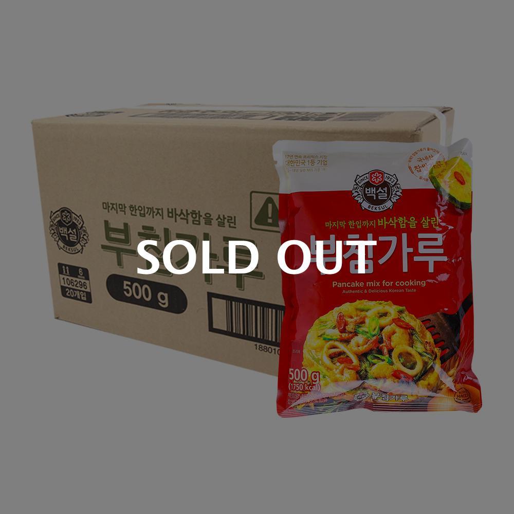 CJ 부침가루 500g(20개)이식사