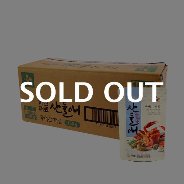 CJ 산들애(해물) 150g(24개)이식사