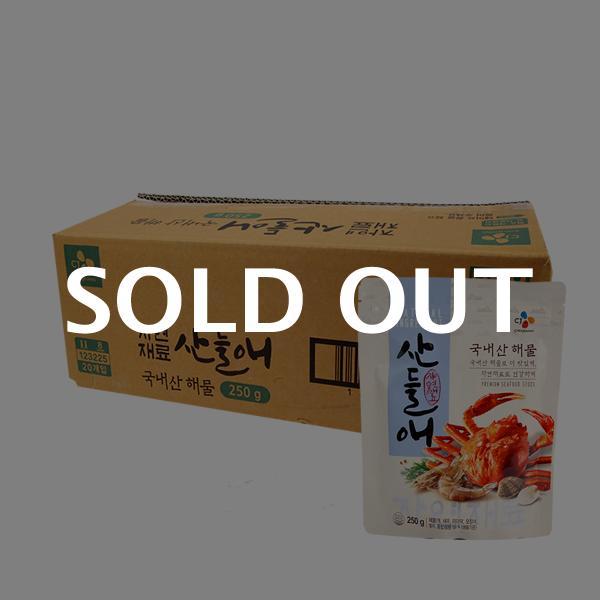 CJ 산들애(해물) 250g(20개)이식사