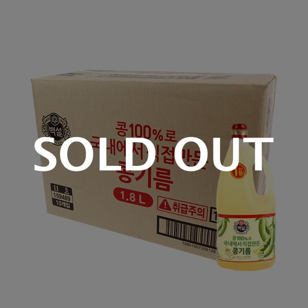 CJ 식용유 1.8L(10개)이식사