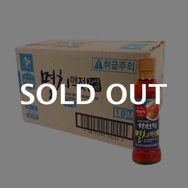 CJ 하선정 멸치액젓 400g 30입