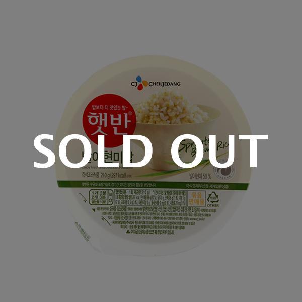 CJ 햇반 발아현미밥 210g이식사