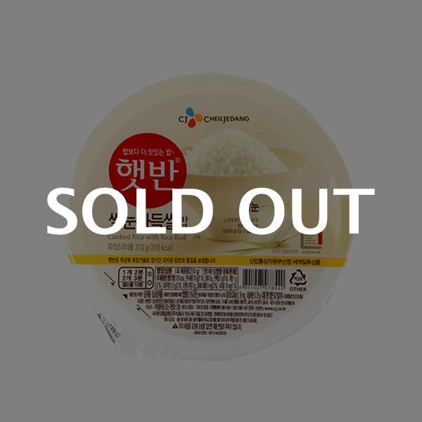 CJ 햇반 쌀눈가득쌀밥 210g이식사