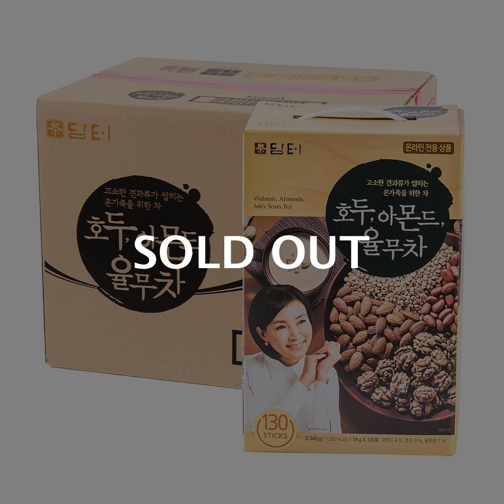 담터 호두아몬드율무차130T(4개)이식사