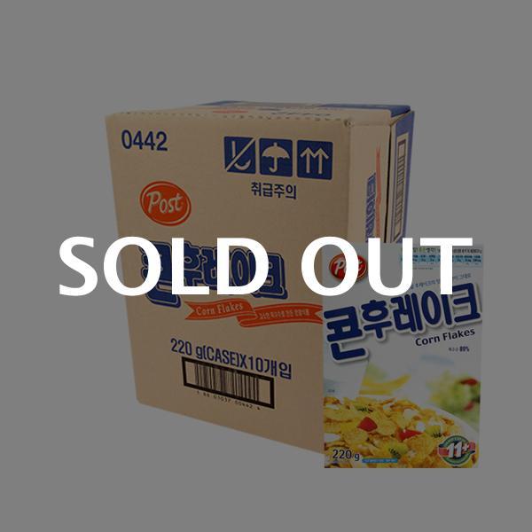 포스트 콘후레이크220g(10개)이식사