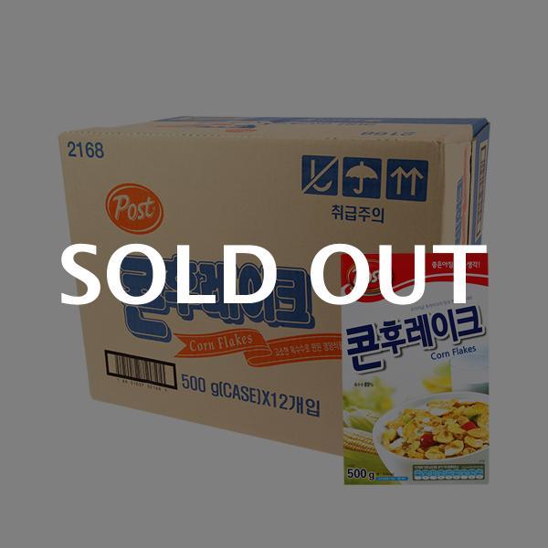 포스트 콘후레이크500g(12개)이식사