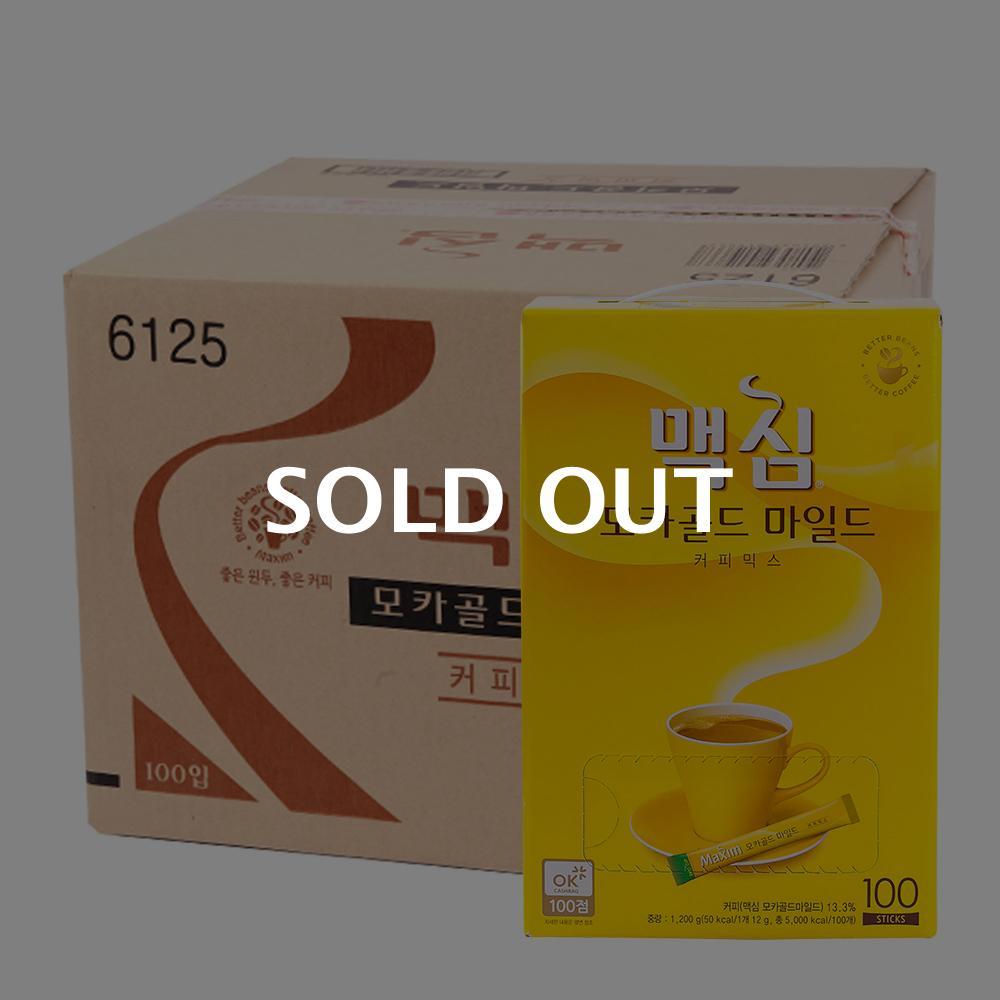 맥심 모카골드100T(8개) (박스)이식사
