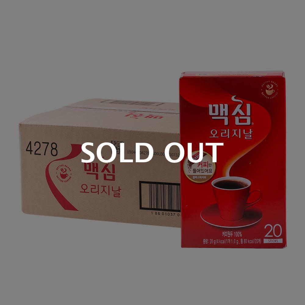 맥심 솔루블 오리지널20T(24개)이식사