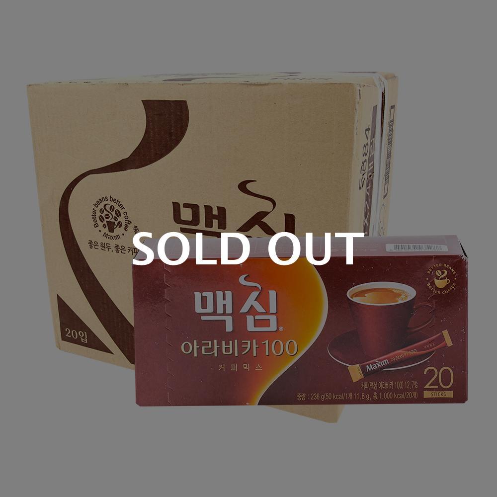 맥심 아라비카20T(24개)이식사