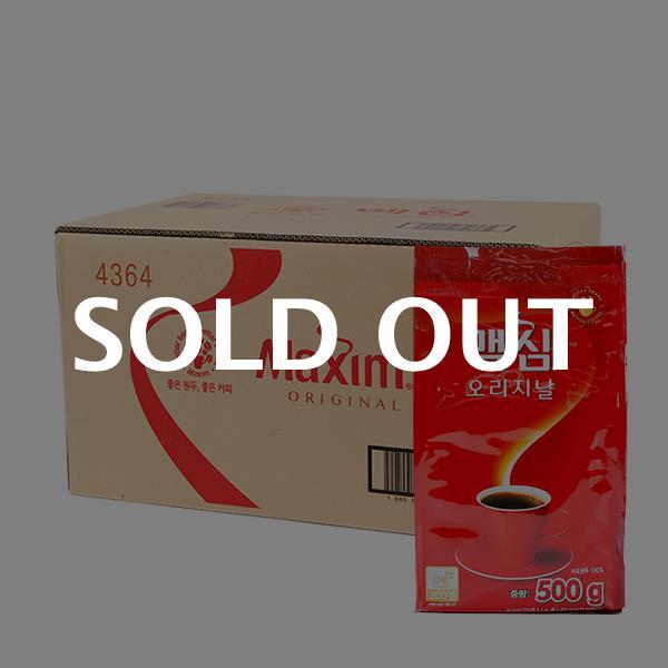 맥심 오리지널(리필)500g(12개) (박스)이식사