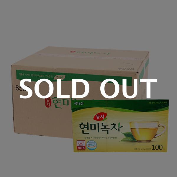 동서 현미녹차100T(24개)이식사