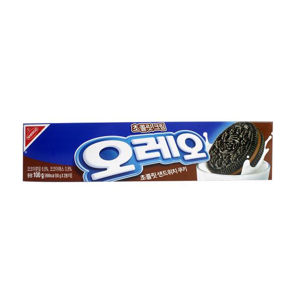 오레오 초코크림 100g이식사
