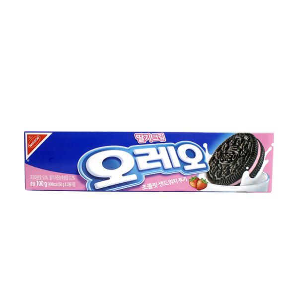 오레오 딸기크림 100g이식사