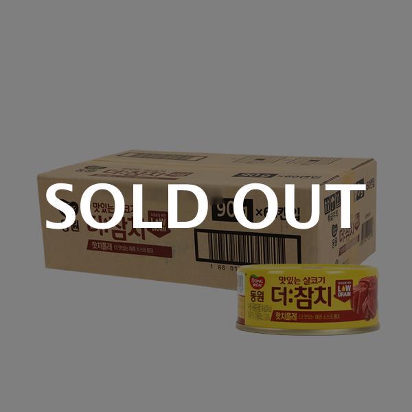 동원 더참치핫치폴레 90g(60개)이식사
