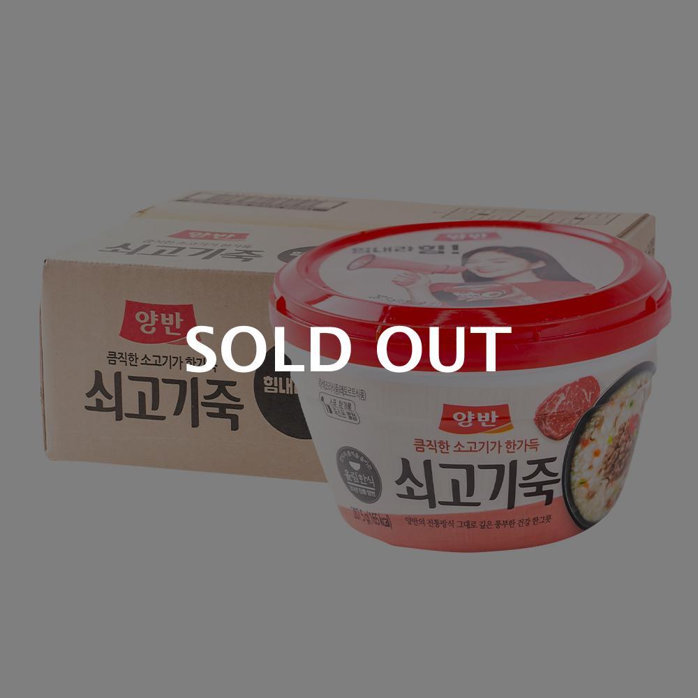 동원 양반쇠고기죽 287g(24개)이식사