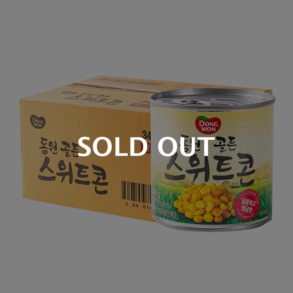 동원 골든스위트콘340g(24개)이식사