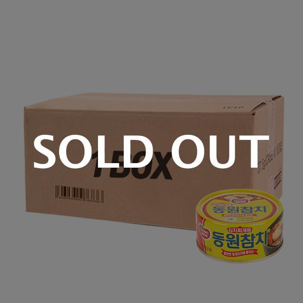 동원 김치찌개용참치150g(48개)이식사