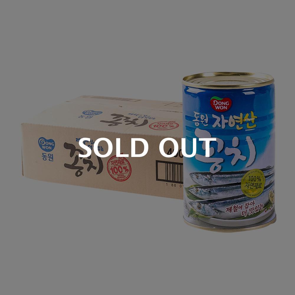 동원 꽁치400g(24개)이식사