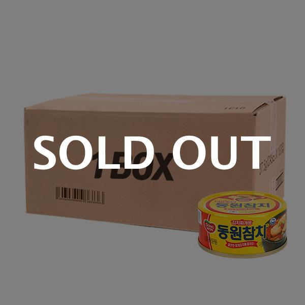 동원 김치찌개용참치 100g(60개)이식사