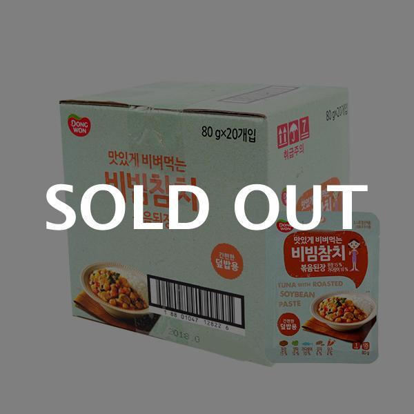 동원 비빔참치 볶음된장 80g(20개)이식사