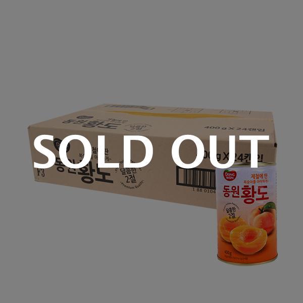동원 2절황도 400g(24개)이식사
