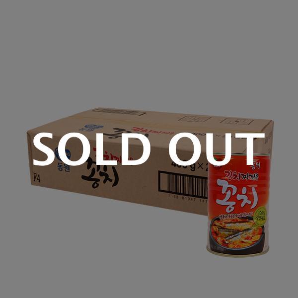 동원 김치찌개용꽁치 400g(24개) (박스)이식사