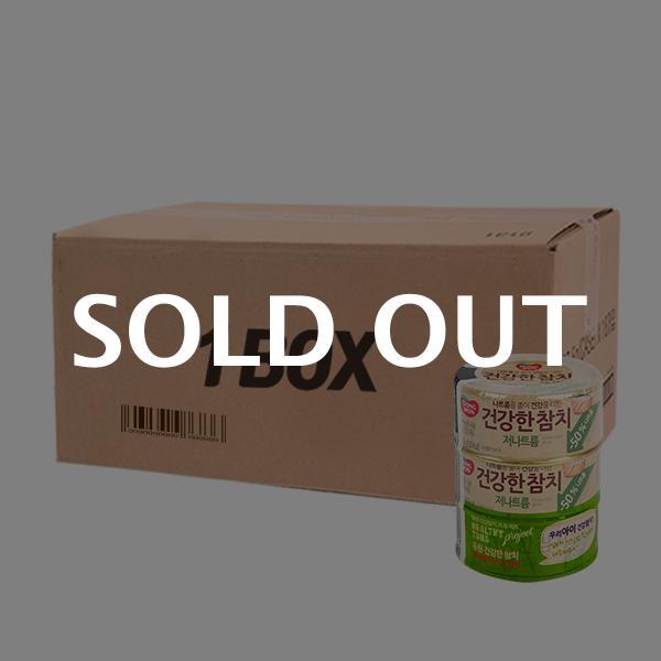 동원 건강한참치 저나트륨 150g 3입(12개) (박스)이식사