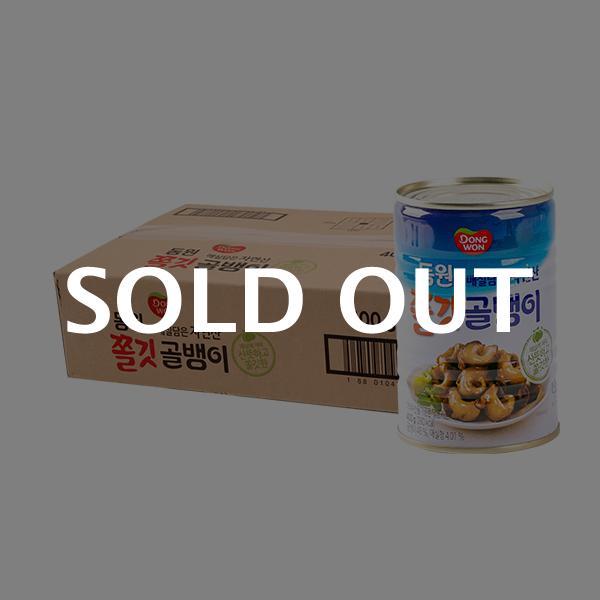 동원 자연산쫄깃골뱅이 400g(24개)이식사