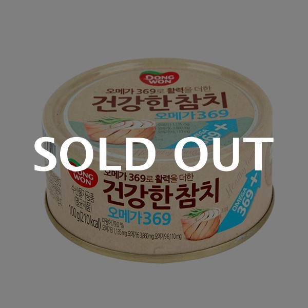 동원 건강한참치 오메가369 100g이식사