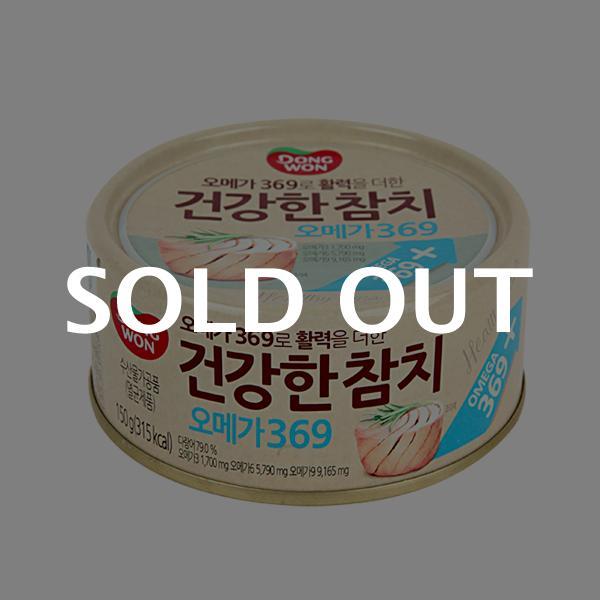 동원 건강한참치 오메가369 150g이식사