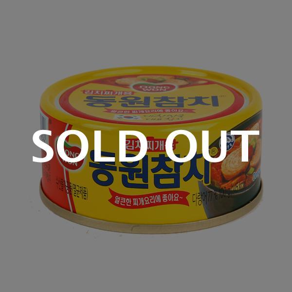 동원 김치찌개용참치 100g이식사