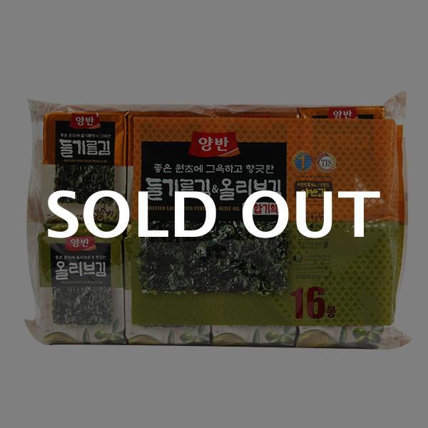 동원 들기름김8봉+올리브김8봉이식사