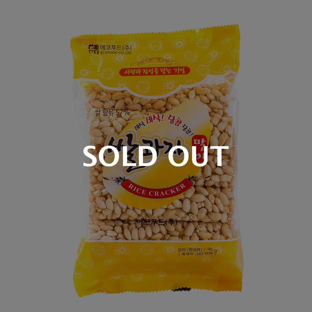 에코푸드 쌀과자말이100g이식사