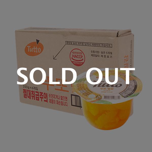 뚜또 밀감 250g 6입 (박스)이식사