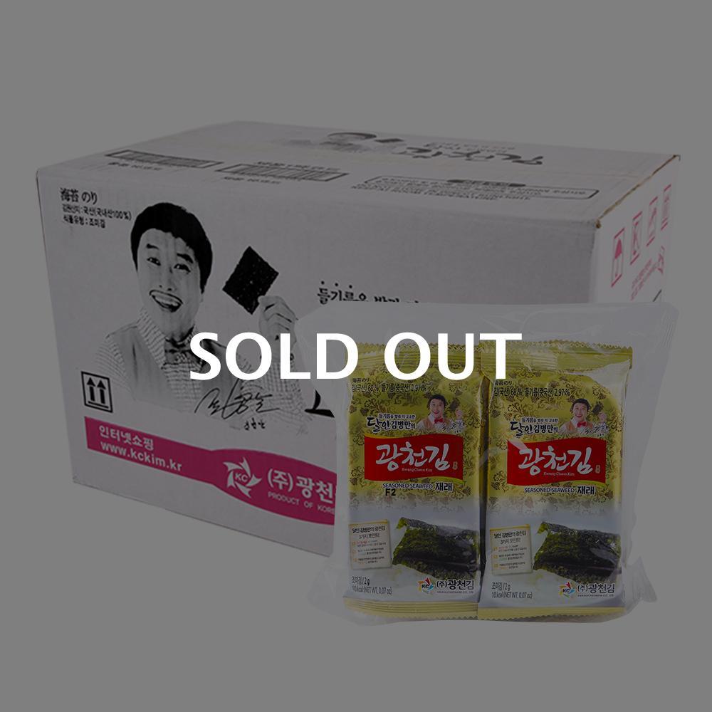 광천김 미니도시락2g 10봉(24개)이식사