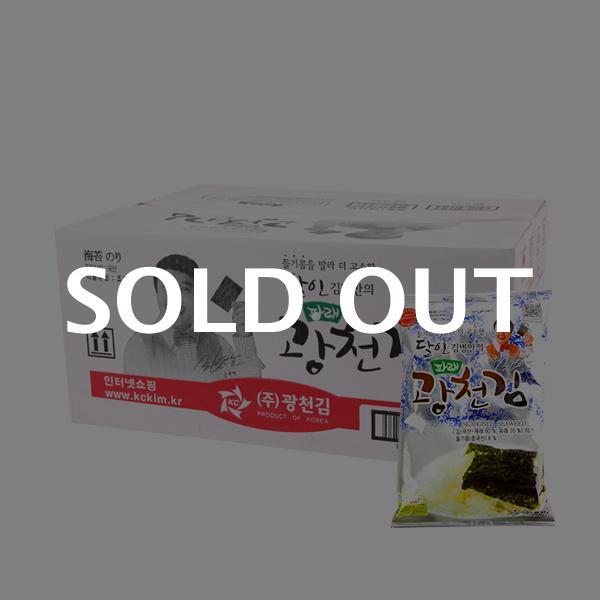 광천김 파래전장(대)55g(20개)이식사